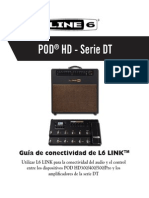 L6 LINK Connectivity Guide for POD HD & DT Amplifiers v2.10 - Spanish ( Rev a )