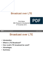 BBC Chris Nokes Broadcast Over LTE 061113