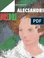 Alecsandri Vasile - Dridri (Tabel Crono)
