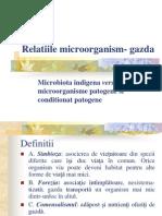 Relatiile Microorganism- Gazda
