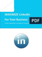 How to Maximize LinkedIn for Your Business by Muneeb Farman....