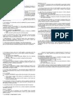 Doctrines in Partnership Law