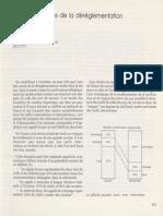 """Charles PAUTRAT, Patrice DELANGLE - Aspects tarifaires de la déréglementation,  - Le Bulletin de l'IDATE"""", n° 18, janvier 1985."""