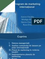 Strategia internaţională de marketing