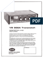 Bw Vs300a Manual