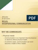 MC101 intecom 2013-2014