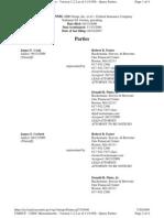 Medical Information Bureau MIB v Federal Insurance Corp Parties