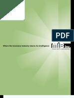 MIB Inc Medical Information Bureau Fact Sheet
