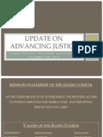 Advancing Justice - 2012 IICM
