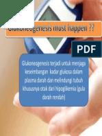 Why Glukoneogenesis