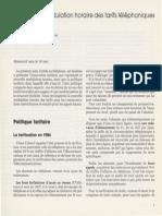 """Charles PAUTRAT - La nouvelle modulation horaire des tarifs téléphoniques, - Le bulletin de l'IDATE"""", n° 15, avril 1984"""