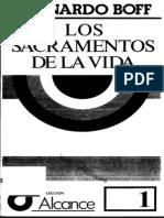 Leonardo Boff Los Sacramentos de La Vida