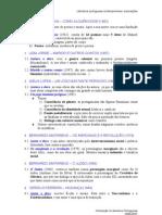 Literatura portuguesa contemporánea