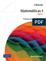 Matematicas.I.algebra.2ed.rene.Jimenez
