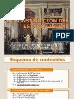 LA CONSTRUCCIÓN DEL ESTADO LIBERAL