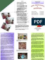 Folheto Artes