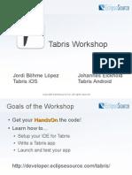 Tabris - Workshop