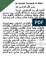 Do'A+Sholat+Tarawih+Dan+Witir