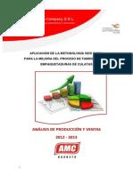 Analisis de Produccion y Ventas 2012 - 2013