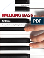 Walking Bass for Piano Preview