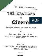 Latin RDG Catiline Orations