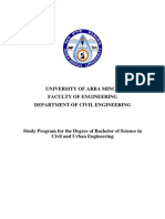 02 ArbaMinch BSc Civil&UrbanEng 191pp