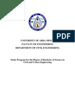 02 ArbaMinch BSc Civil&UrbanEng 191pp