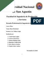Ética Profesional 2013
