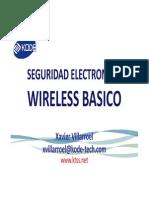 WIDE - Wireless Basico Xavier Villarroel
