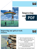 Improving your grit at work