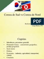 Coreea de Nord vs Coreea de Sud