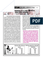 Emale Mortality & Sex Ratio In