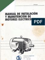 Manual Motores Electricos