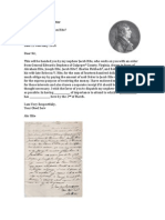 Feb 1816 letter from Abraham Hite to General James Taylor