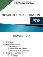 Dissolution Filtration