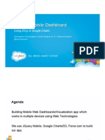 Dreamforce 2013 - Building Mobile Dashboard with JQuery Mobile , Google Charts & D3.js