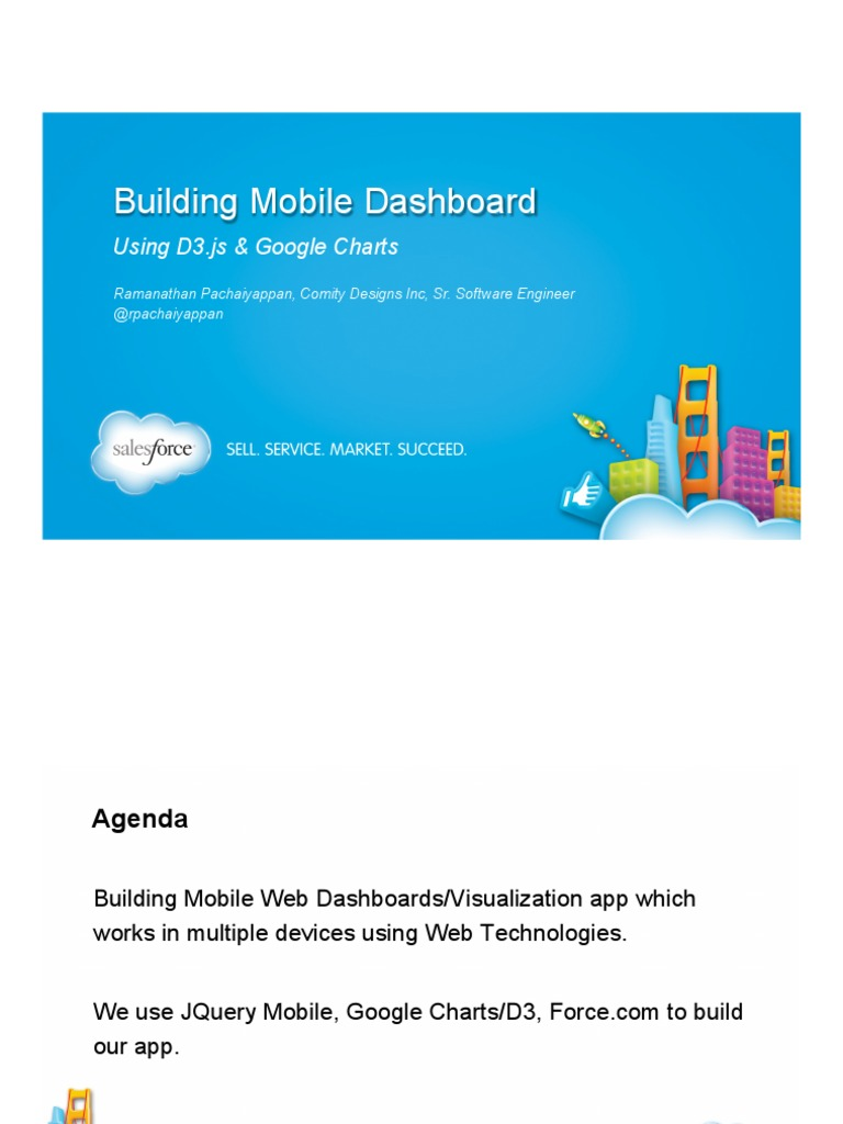 Dreamforce 2013 - Building Mobile Dashboard with JQuery Mobile