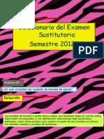 Solucionario Del Examen Sustitutorio MANTE2012B