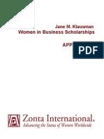 Application JMK 2013