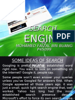 IN SEARCH of AN ENGINE