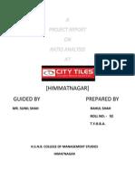City Tiles Ltd Rahul