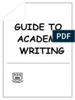 Academic Writing Guide - Complete Draft