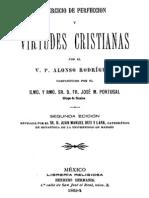 Ejercicios de Perfeccion y Virtudes Cristianas