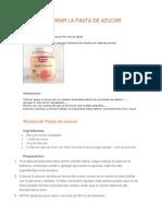 Glaseados y Pastas de Azucar