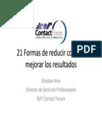 21 Maneras de Reducir Costos y Mejorar Resultados(24)