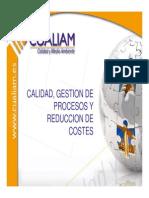 Calidad,  Gestión de Procesos y Reducción de Costes(34)