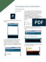 Instrucciones básicas de uso de los programas arduino y VBB3