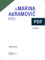 When Marina Dies-A Biography