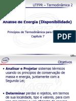 AN-LISE DE EXERGIA.ppt