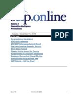 Scip.org-Issue 172 09Nov17